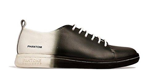 Erwachsene Tops Weiß Low Pantone Sneaker Footwear Schwarz Unisex Universe FqxawtU