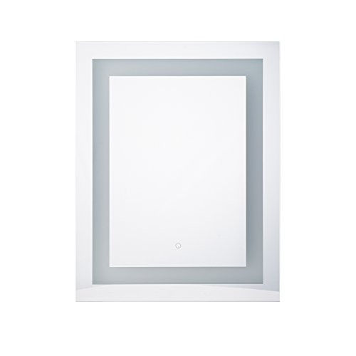 """CO-Z Dimmable LED Bathroom Wall Mirror Light, Lighted Vanity Mirror for Make Up, Wall Mounted (24"""" x 30"""") by CO-Z (Image #8)"""