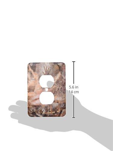 Kakadu NP Aboriginal Rock Art Plug Outlet Cover 3dRose lsp/_69507/_6 Australia