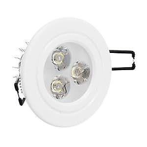 Ledtcx 3W 240LM 4500K Natural White Light LED Ceiling Light(AC 85-265V)