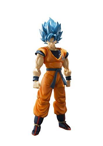 Tamashii Nations Bandai S.H. Figuarts Super Saiyan God Super Saiyan Goku Dragon Ball Super: Broly Action Figure ()
