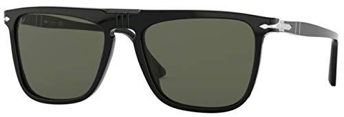 Persol Unisex 0PO3225S - Size 56 Black One Size
