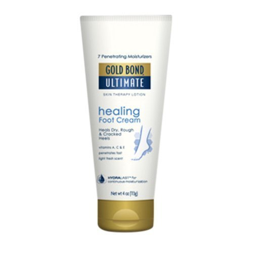 Gold Bond Ultimate Healing Foot Cream, 4 oz (Pack of 2)