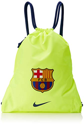 Nike FC Barcelona Stadium Football Gym Sack Volt/Deep Royal Blue