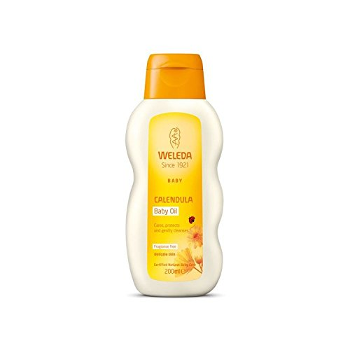 Weleda Baby Fragrance Free Oil 200ml - Pack of 4