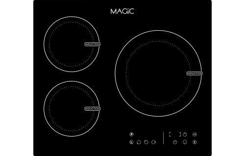 Magiic - Mesa de inducción 3 Fuegos Magiic Touch - varias ...