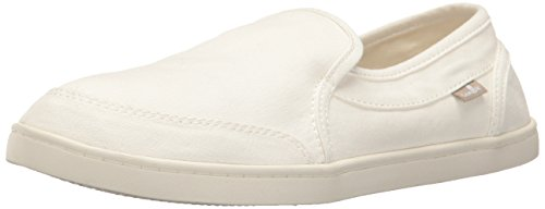Sanuk Women's Pair O Dice Loafer Flat, White, 07 M - Usa Sanuk