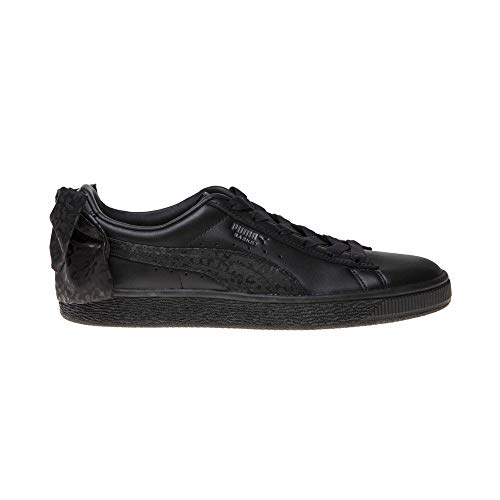 Donna Black Nero 367828 Puma Sneaker Bow Animal Basket 02 Wn's TxR8OqX1Uw