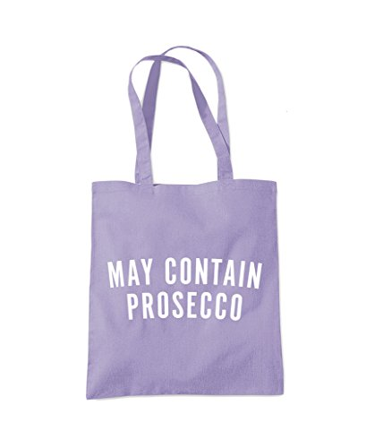 Fashion Tote Shopper Prosecco Contain May Purple Bag Lavender wqPvCqn