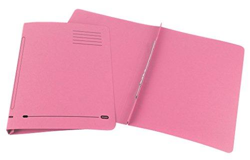 Elba Ashley Flat Bar File Foolscap Pink 100090155 Pack of 25