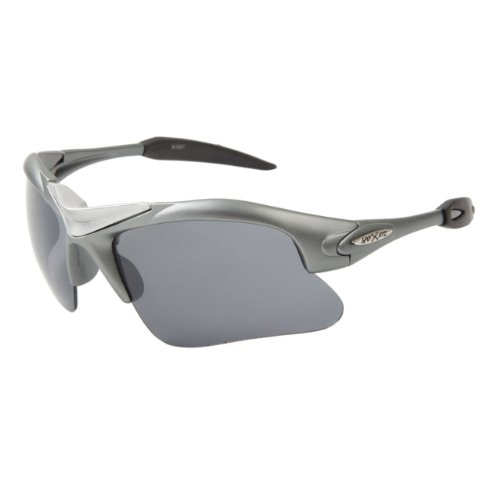 df38c38743a4 Gun Medal Xsportz Triathlon Cycling Running High Profile Sunglasses