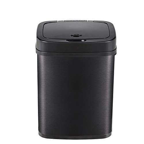Container met recycling 12L capaciteit slaapkamer keuken creatieve intelligente sensor trash can stilte touchless…