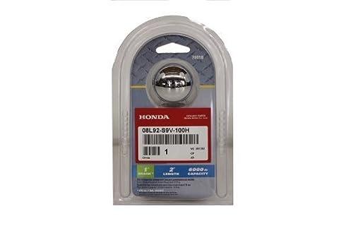 Genuine Acura Accessories 08L92-S9V-100H 2 Trailer Hitch Ball by Acura - Acura Legend Trailer Hitch