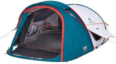 Quechua 2 Seconds XL Air III Pop Up Tent - 3 Man, Blue