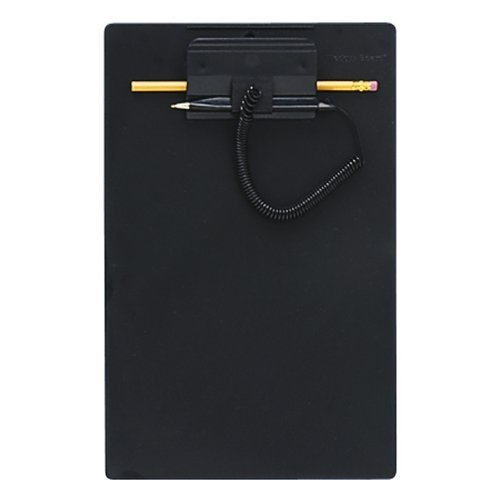 Mmf Wedgy Pen Clipboard - MMF Industries Clipboard with Wedgy Pen, 8.5 x 11 Inches, Black (258470004) by MMF Industries