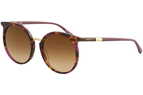 Sunglasses LACOSTE L 849 S 215 CYCLAMEN HAVANA