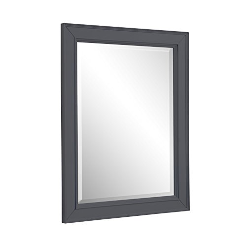 Collection Bath Wall (Kitchen Bath Collection MR04GY Napa Wall Mirror, 28