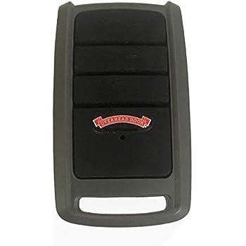 Overhead Door O3T-BX Garage Door Opener Remote, 3 Buttons, Key Chain or Visor