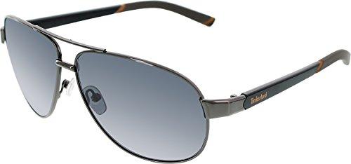 Timberland TB7095 Metal Aviator Sunglasses