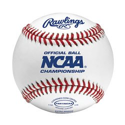 Rawlings Flat Seam Collegiate NCAA League Baseballs, 12 Count, FSR1NCAA