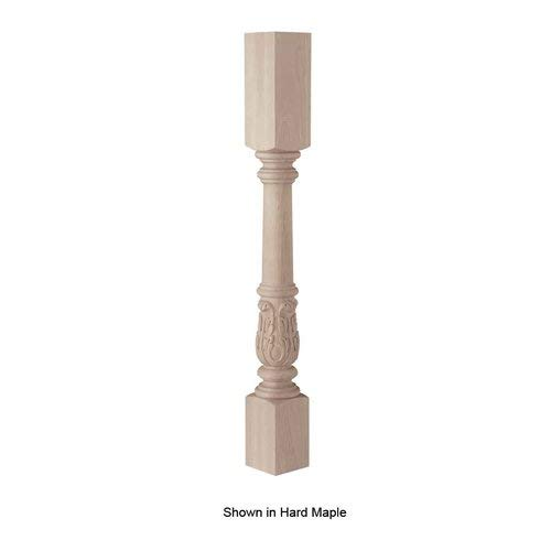 Acanthus Island Column, Red Oak for sale  Delivered anywhere in USA
