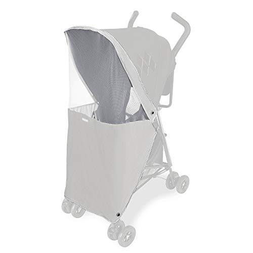 Maclaren Mark II Mosquito Net- Two-Panel Protective net Stroller Accessory fits Maclaren Mark II Style Set Stroller. Protects Against Mosquitos and Insects. Easy to Attach
