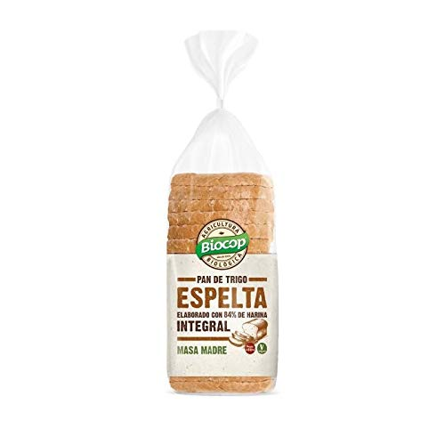 Pan de molde Espelta Integral Biocop, 400 g: Amazon.es ...