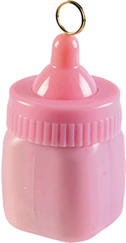 Amscan 114539.109 Balloon Weight, 2.9 oz, Pink