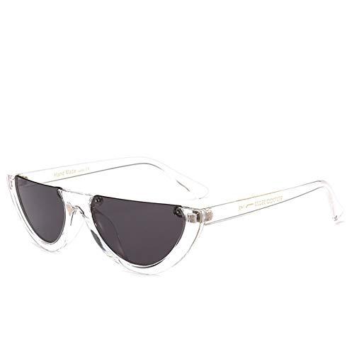 NIFG personnalité créative géométrique Lunettes soleil de de F de soleil cadre lunettes qxBq6arp