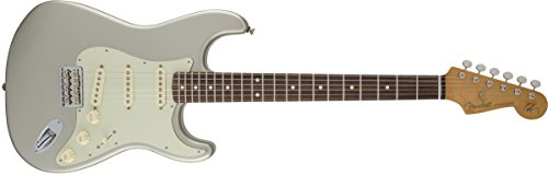 Fender Robert Cray Stratocaster Electric Guitar, Inca Silver, Rosewood Fretboard -