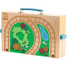 Thomas & Friends Wooden Railway - Play and Go Carry (Thomas Train Carry Case)