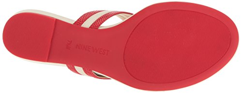 West Womens Renne White Off Red Nine Patent Patent Renne dzwd7q
