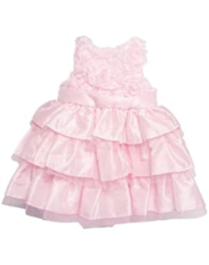 Baby Girl Pink Silk Dress