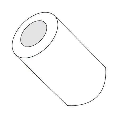 1/4'' OD Round Spacers/#6 x 1/Nylon/Outer Diameter: 1/4''/Hole Size: #6/Length: 1'' (Carton: 1,000 pcs)
