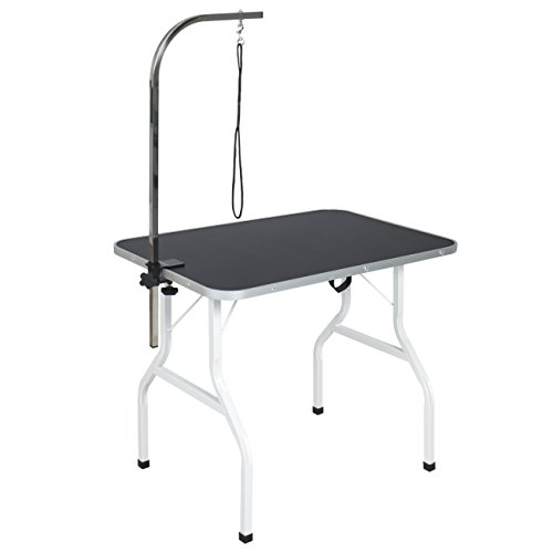 adjustable c table. 31fSeA8DLLL - Best Choice Products Folding Pet Grooming Table W/ Adjustable Arm, Removable C E