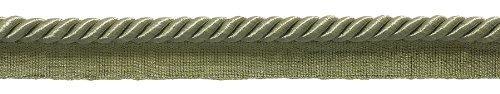 "10 Yard Value Pack of Medium 5/16"" Basic Trim Lip Cord, Style# 0516SPK Color: SAGE GREEN - L83 (30 Feet / 9.5 Meters)"