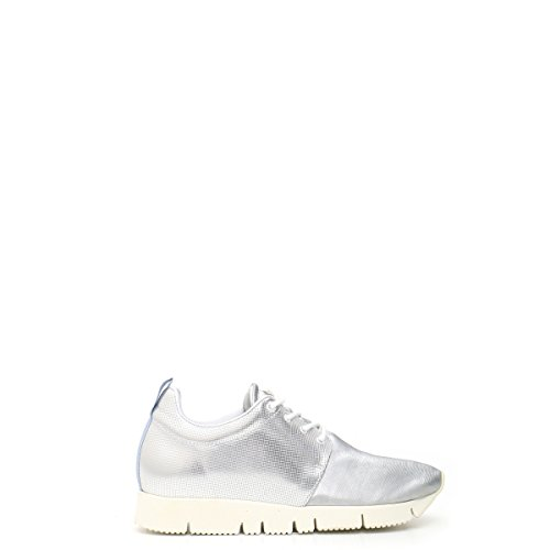 Zapatos Plata Leather Zapatos Leather Crown Hycdggq