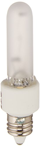 Bulbrite KX20FR/MC 20W KX-2000 Krypton/Xenon T3 Frost Bulb, Mini-Candelabra Base ()