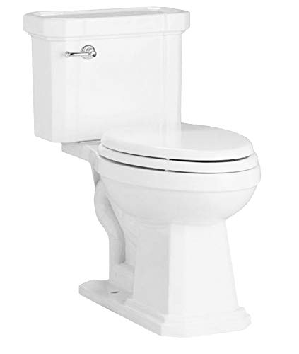 Mirabelle MIRAM240WH Amberley Elongated ADA Height Toilet Bowl Only ()