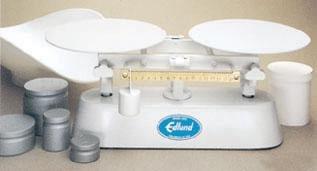 [Bakers Dough Scale 16 lb. x 1/4 oz. Capacity, White Epoxy Platform 1 Each] (16 Lb Bakers Scale)