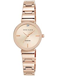 Women's AK/2434RGRG Diamond-Accented Rose Gold-Tone...