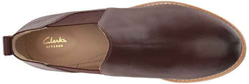 Tan Boot Dark Fashion Clarks Leather Women's Edenvale Page gBYUq