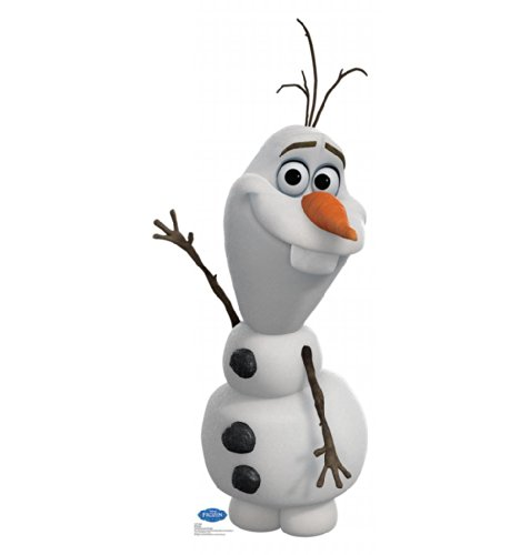 Olaf - Disney's Frozen - Advanced Graphics Life Size Cardboard Standup