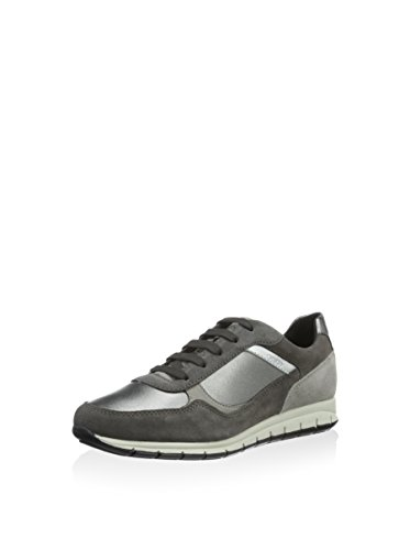 Geox D Contact B - Zapatillas Mujer Metal Oscuro / Gris Oscuro