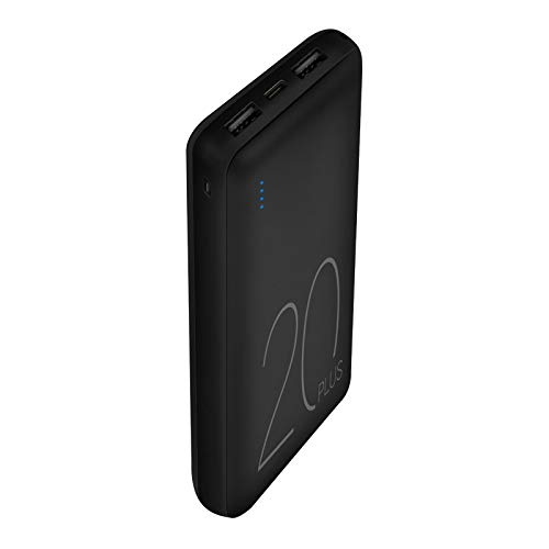 Portable Charger, JDB Power Bank 20000mAh 2 Output & 2 Input Compatible with iPhone 11 / iPhone 11 Pro/iPhone 11 Pro Max/XS/X / 8/7 / 6