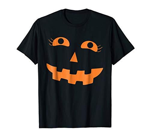 Pumpkin Girl Shirt Halloween -