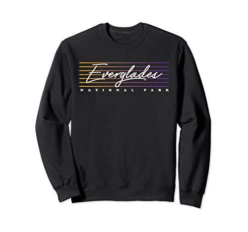 - Everglades Sweatshirt Retro Style Florida Shirt