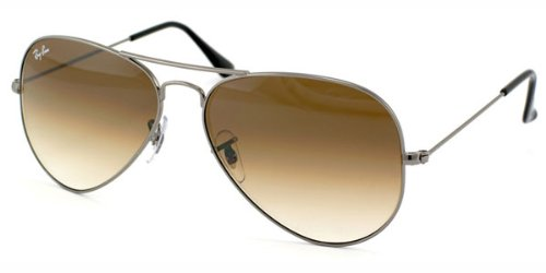 5208cbabd6 Ray-Ban Aviator Full Color - Gafas de sol para hombre, color gunmetal,  talla 55: Amazon.es: Ropa y accesorios