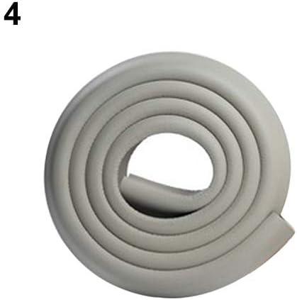 liyhh Safety Table Desk Edge Corner Cushion Guard Strip Softener Bumper Protector Grey
