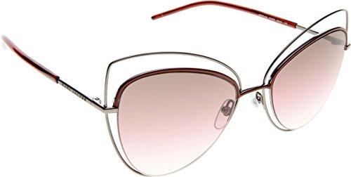 (Marc Jacobs 8/S Sunglasses Dark Ruthenium/Brown Mirror Orange Polarized)